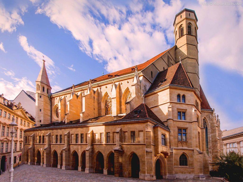Minoriten Kirche Wien klassische Konzerte Veranstaltungen