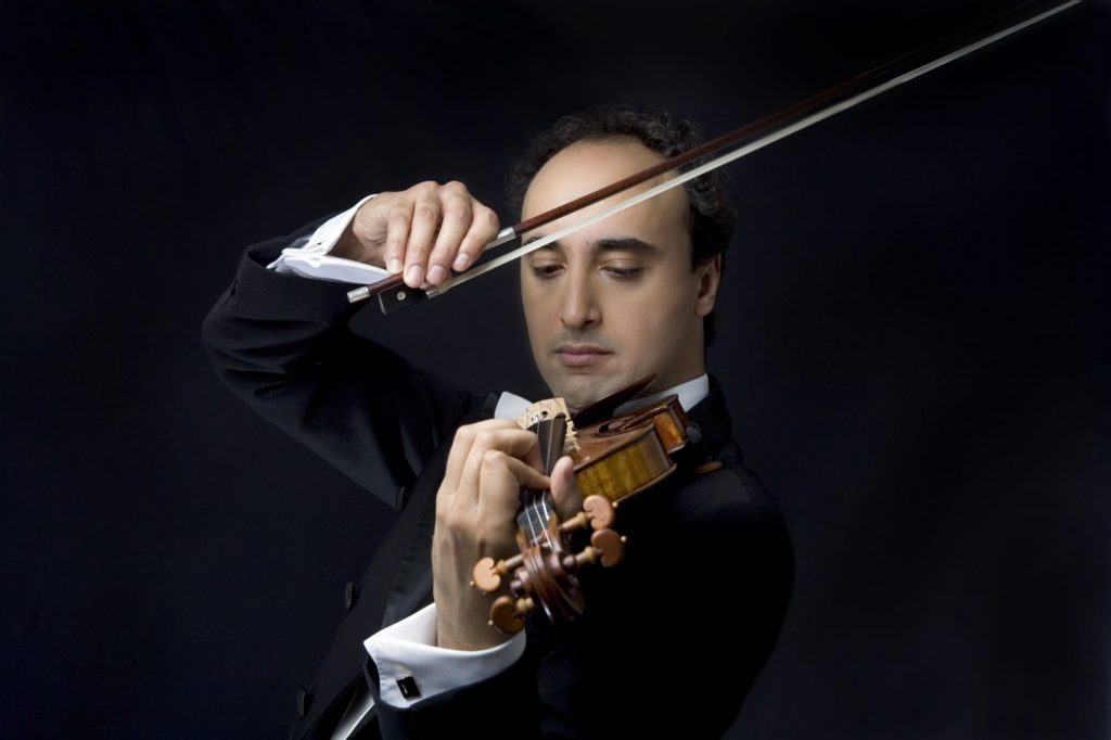 Klassische Konzerte Wien Mario Hossen Maestro Geigenvirtuose